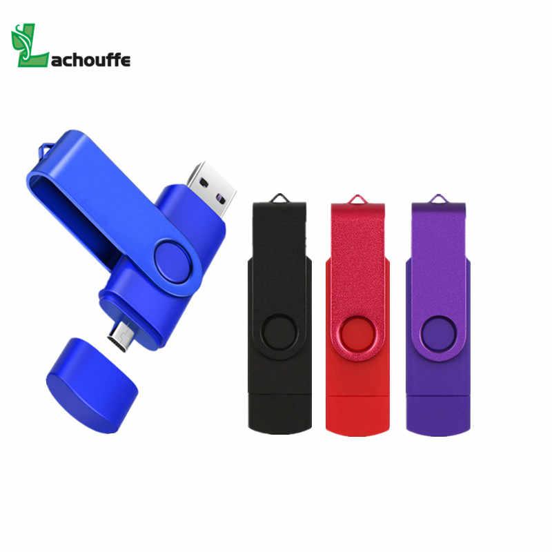 2 ב 1 OTG USB דיסק און קי 128gb 64gb 32gb זיכרון מקל 16gb 8gb עט כונן עבור טלפון/tablet פלאש usb מקל pendrive