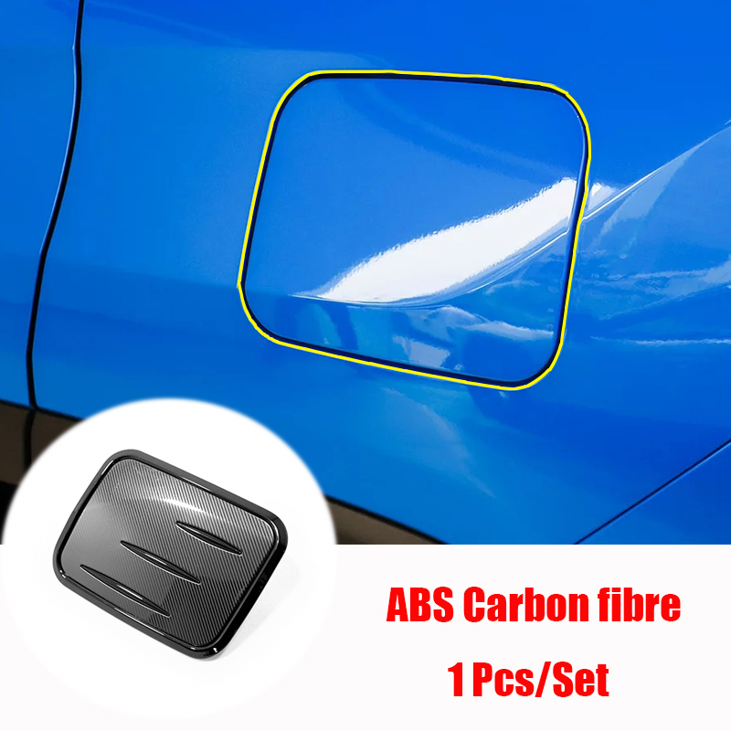 ABS Carbon Car Accessories Rear Trunk Lid Cover Trim For Toyota RAV4 2019-2020