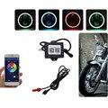 5 75 ''светодиодный фонарь RGB Halo Angel Eyes APP Control 40 Вт H/L луч для Harley