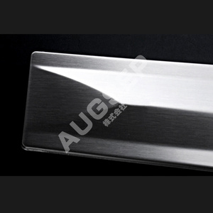 Image 2 - High quality Auto Exterior Parts for Toyota Crown GRS214 Stainless Steel Car Door Trim Cover Car Styling Sticker chrome trim