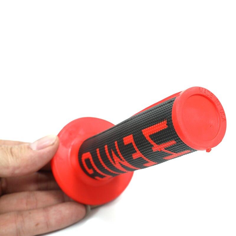 Купить мотоциклетные резиновые ручки мягкие для мотокросса 7/8 дюйма