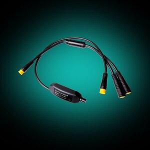 Image 5 - ミッドモーターギアセンサーため BAFANG BBS01 BBS02 BBSHD 3 ピン 1 コネクタ 24 センチメートルシフトギアセンサー Y ケーブル BAFANG センサー
