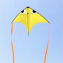 Высокого качества 4 м городской эльф воздушный змей линии различных цветов выбрать большой орел воздушный змей ripstop нейлон летающий змей из ткани