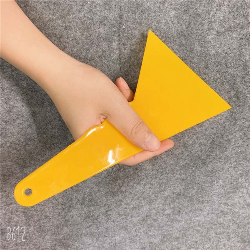 Plate Stickers Bubble Tools Plastic Squeegee Scraper Window Car Cleaning Tool