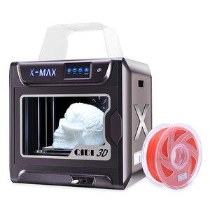 Image 2 - QIDI TECH X MAX 3D drukarki duży rozmiar wysokiej temperatury wytłaczarki PC Nylon z włókna węglowego