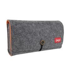Bolsa de almacenamiento para NS Lite, Estuche de transporte de tela de fieltro protectora con ranura para tarjeta de juego para Nintendo Switch Lite