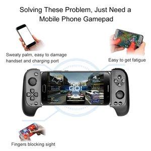 Image 5 - Saitake 7007F אלחוטי Gamepad Bluetooth בקר משחק עבור Huawei Xiaomi אנדרואיד טלפון טלוויזיה iPhone טלסקופי GamePads ג ויסטיק