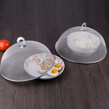Household Food Cover Kitchen Accessories Stainless Steel Mesh Practical Durable Food Cover Protecting Food