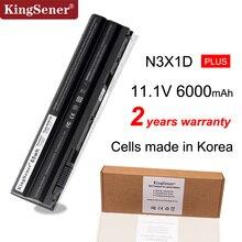 KingSener Korea Cell 65WH N3X1D Laptop bateria do DELL Latitude E5420 E5430 E5520 E5530 E6420 E6520 E6430 E6440 E6530 E6540