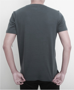 Image 3 - 2019 גברים צמר מרינו T חולצה 100% צמר מרינו איש ספורט חולצה גודל S XL רך לחות הפתילה ריח התנגדות 150G הנחה