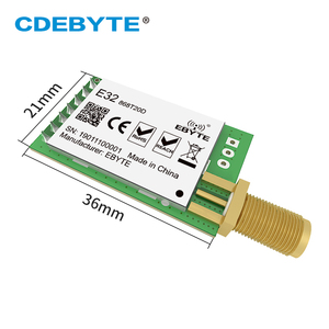 Image 2 - 10pc/lot LoRa SX1276 Transmitter Receiver 868MHz Module E32 868T20D 20dBm UART IoT 868 MHz SMA SX1278 Wireless Transceiver