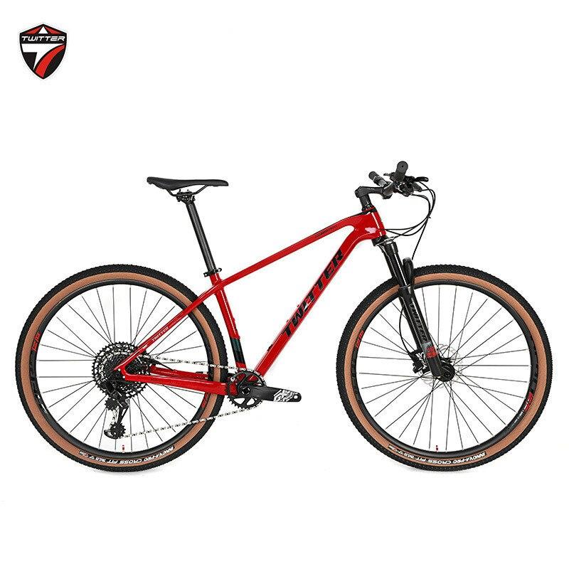 GX-12S Горячая Twitter Warriorpro Carbon MTB велосипеда 27.5er 29er 12s двойной дисковый тормоз 29ER горных велосипедов углерода 15 17 19 дюймов