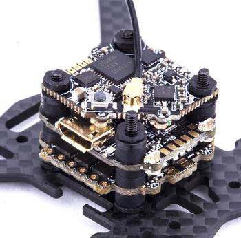 16*16mm FLYWOO GOKU F411 Micro Stack 2-4S MPU6000 F4 FC 13A ESC VTX625 450mW For Tinywhoop Cinewhoop Duct Drone Racing Freestyle