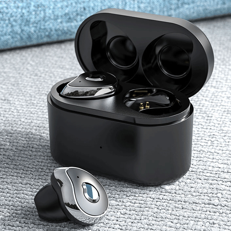 SE-6 TWS Wireless Earbuds Bluetooth 5.0 Sport Fitness Waterproof Earphones Noise Reduction HD Stereo Gaming Headphones with Mic