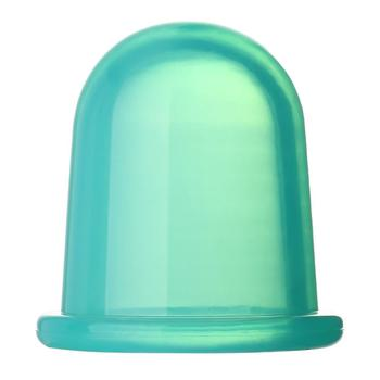 1pc Family Full Body Massage Massgaer Helper Sillicone Anti Cellulite Vacuum Health Care Silicone Cupping Cups Drop Shipping - Green