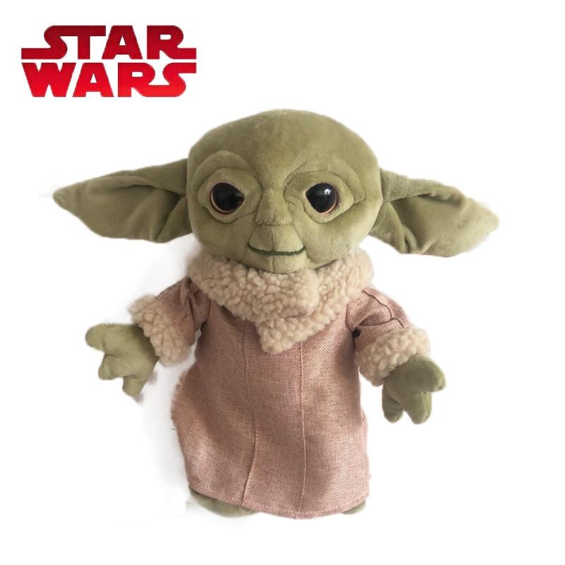 30CM Baby Yoda Plush Toy The Force Awakens BB8 Plush Keychain BB-8 Soft Stuffed Dolls Plush Pillow  Star Wars Toys