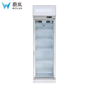 Commercial Upright Glass Door Coolzer / Supermarket Refrigerator / 1 door commercial refrigerator 2~8