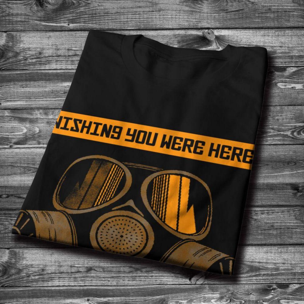 Summer Nuclear Chernobyl Disaster Tee Shirt New Design Round Collar T Shirt Cotton XS-3XL Plus Size T-Shirt