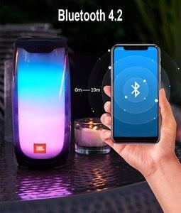 Image 5 - Loa JBL PULSE4 Vòi Lạnh Gắn Chậu Bluetooth Không Dây Cho Thấy Ánh Sáng Loa Âm Thanh Stereo Có Đèn LED Đảng Tăng Cường Ứng Dụng IPX7 Chống Nước JBL PULSE 4