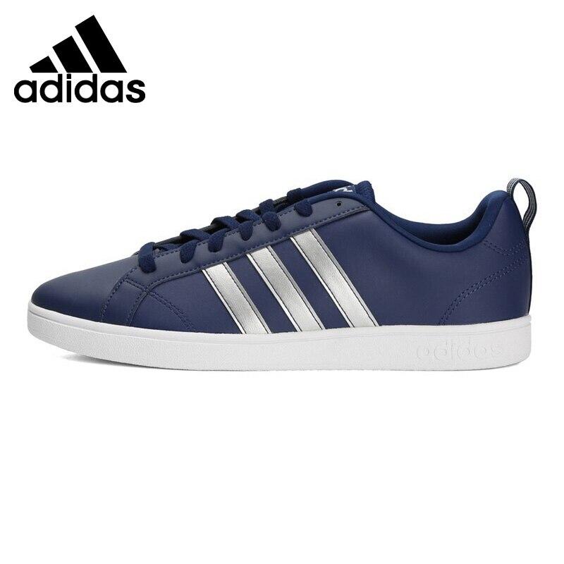 Nouveauté originale 2019 Adidas VS avantage chaussures de Tennis pour hommes baskets Tennis à lacets résistant débutant loisirs F34432