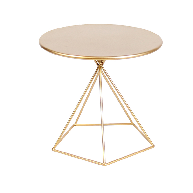 Nordic side table ins creative coffee table living room simple sofa corner table small side table iron bedroom round table
