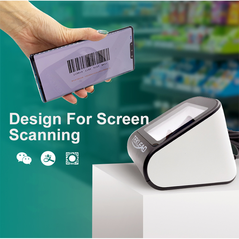 Mobile QR code reader phone barcode scanner with USB Cable non-contact payment cashier image