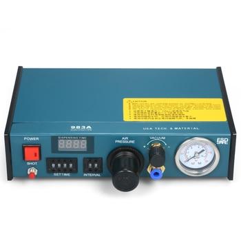 Automatische EU Stecker Kleber Dispenser Maschine Genauigkeit Abgabe Controller Kleber Maschine Digital Control Kleber Maschine Schweißen Tool
