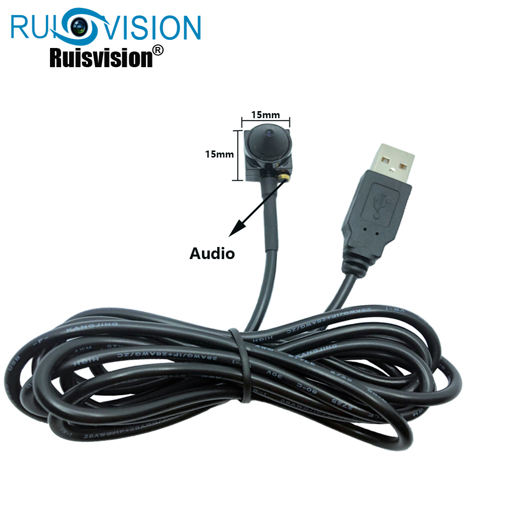 HD1080P/2MP USB 2.0 MINI Camera 3.7MM Lens Mini USB CCTV Camera With USB Webcam For use Windows Computer PC Laptop Free shipping