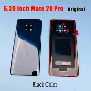 Image 3 - Original for Huawei Mate 20 Battery Cover Mate20 Pro Back Glass Panel For Huawei Mate20 Rear Door Housing Case With Camera Lens
