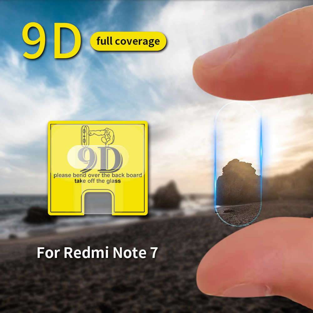 9D Camera Glass Film For Xiaomi Redmi Note 8 5 7 Pro K20 Pro 7 7A 6 6A Back Camera Lens For Xiaomi Redmi Note 8 7 5 7S K20