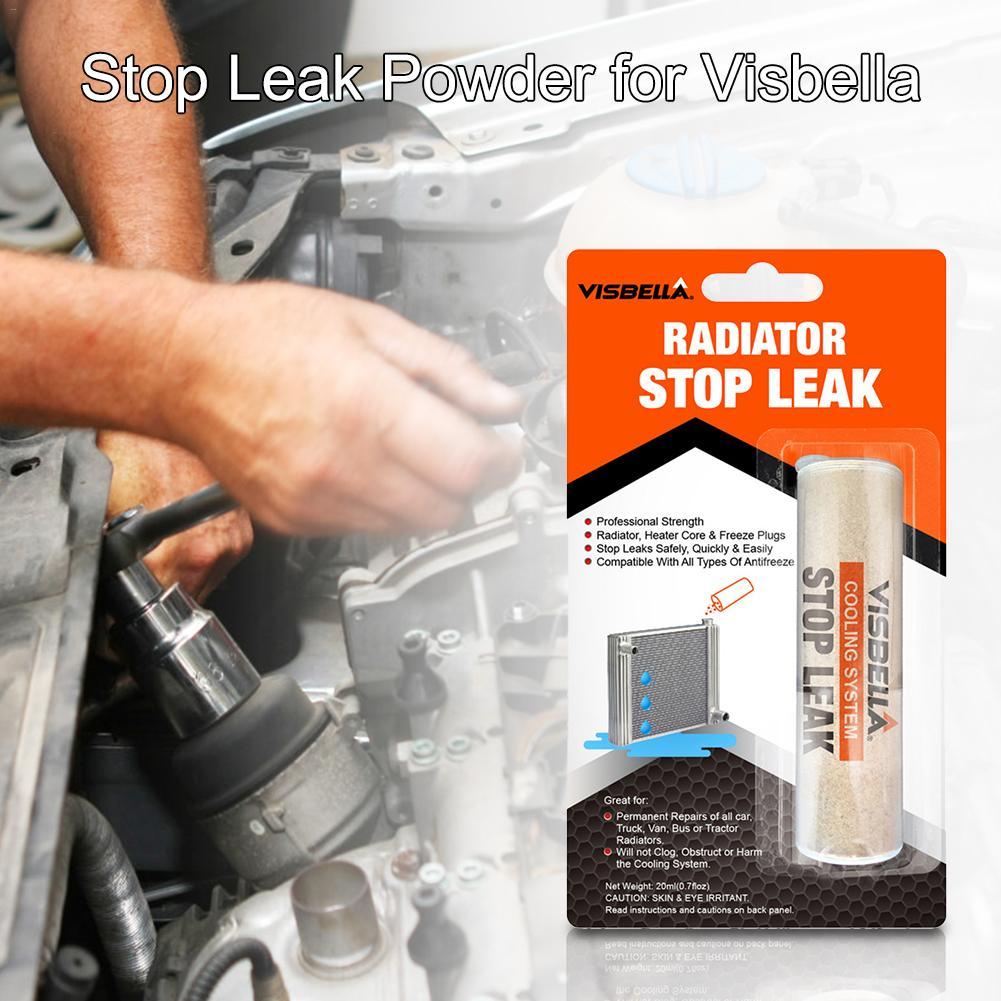 Car Stop Leak Powder Car Water Tank Radiator Stop Leak Sealing Powder Cooling System Powder For Visbella Car Repair Accessories
