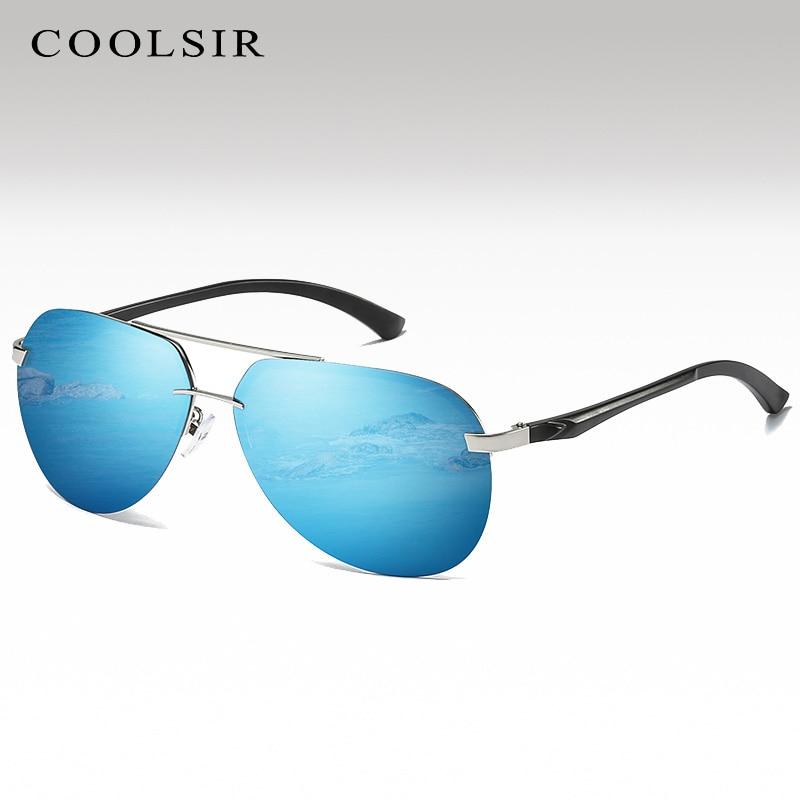 Coolsir 2020 New Polarized Sunglasses Men Fashion Glasses Classic Brand Sun Glasses A143 Sunglasses Driving Eyewear For Men