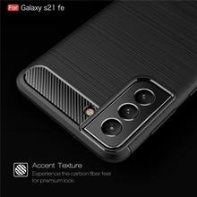 Voor Samsung Galaxy S21 Fe 5G Case S20 S21 Fe Cover Shockproof Bumper Zachte Siliconen Armor Telefoon Geval Voor samsung Galaxy S21 Fe 5G