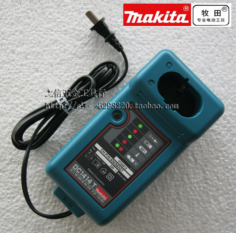 Charger DC1414T For MAKITA  7.2V 9.6V 12V 14.4V 18V NI-MH NI-CD Battery MAKITA DC1414T DC1414F DC1414 9100A 6281D 6010D 6261D