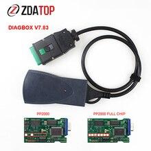 Lexia 3 pp2000 completo chip diagbox v7.83 software com firmware lexia3 para citroen para peugeot obdii diagnóstico ferramenta