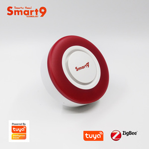 Image 2 - Smart9 ZigBee Alarm Hooter współpracuje z hubem TuYa ZigBee, inteligentną syreną z automatyką dźwięku i latarka przez Smart Life App