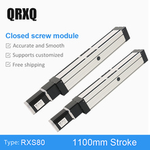 цена на High Precision Linear Slide Linear Guide Rail  1100mm Guide Length Smooth Linear Motion For CNC Machine