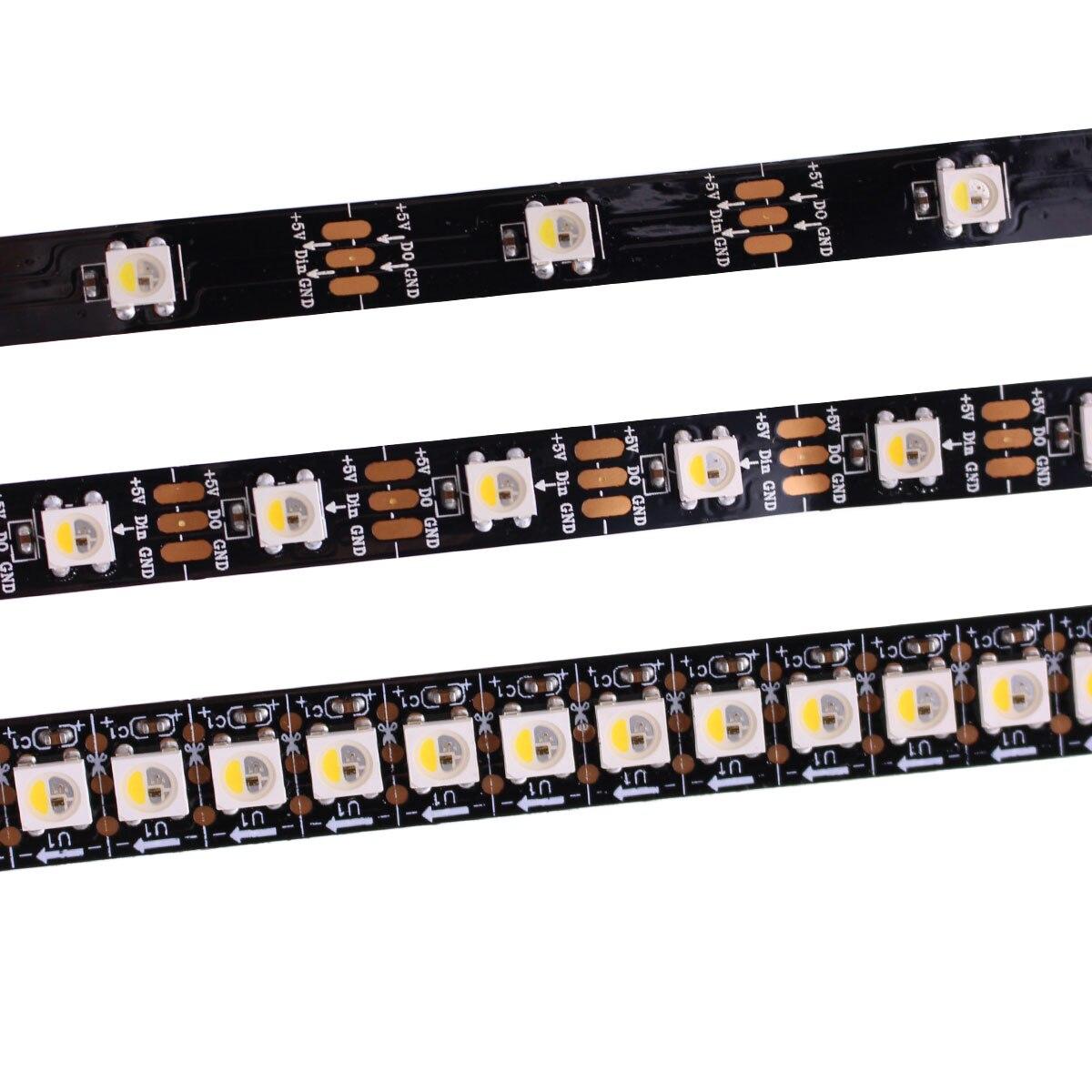 Best Price 1m 5m Addressable SK6812 RGBW RGBWW Led Strip Neutral White WWA Waterproof 30/60/144 Leds/pixles/m 5V Similar WS2812B