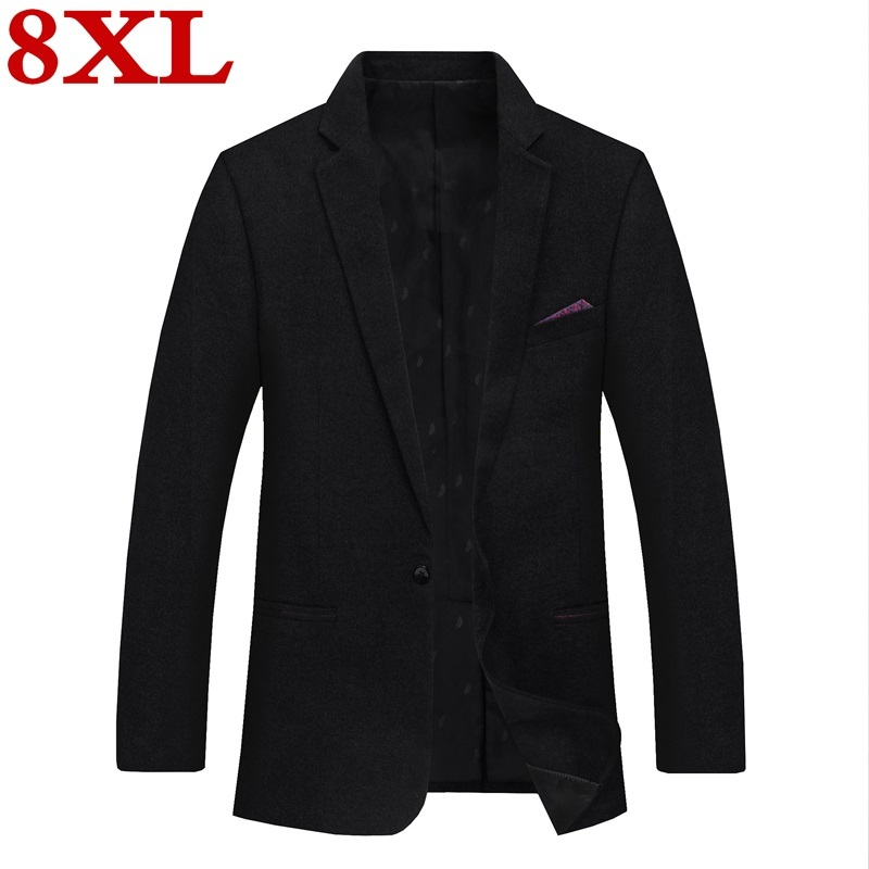 2020 Plus Size 8XL 7XL 6XL New Casual Suit  For  Men High Quality Spring And Autumn Suit Jacket Men Jackets And Blazers