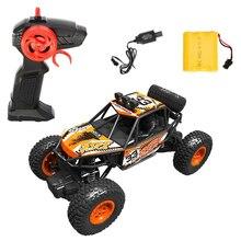 Нескользящая 1/20 детская игрушка на день рождения, детская 2,4 GHz скалолазание внедорожника, мини ударопрочный 4WD подарок для мальчиков и девочек, Радиоуправляемый автомобиль, песок, земля