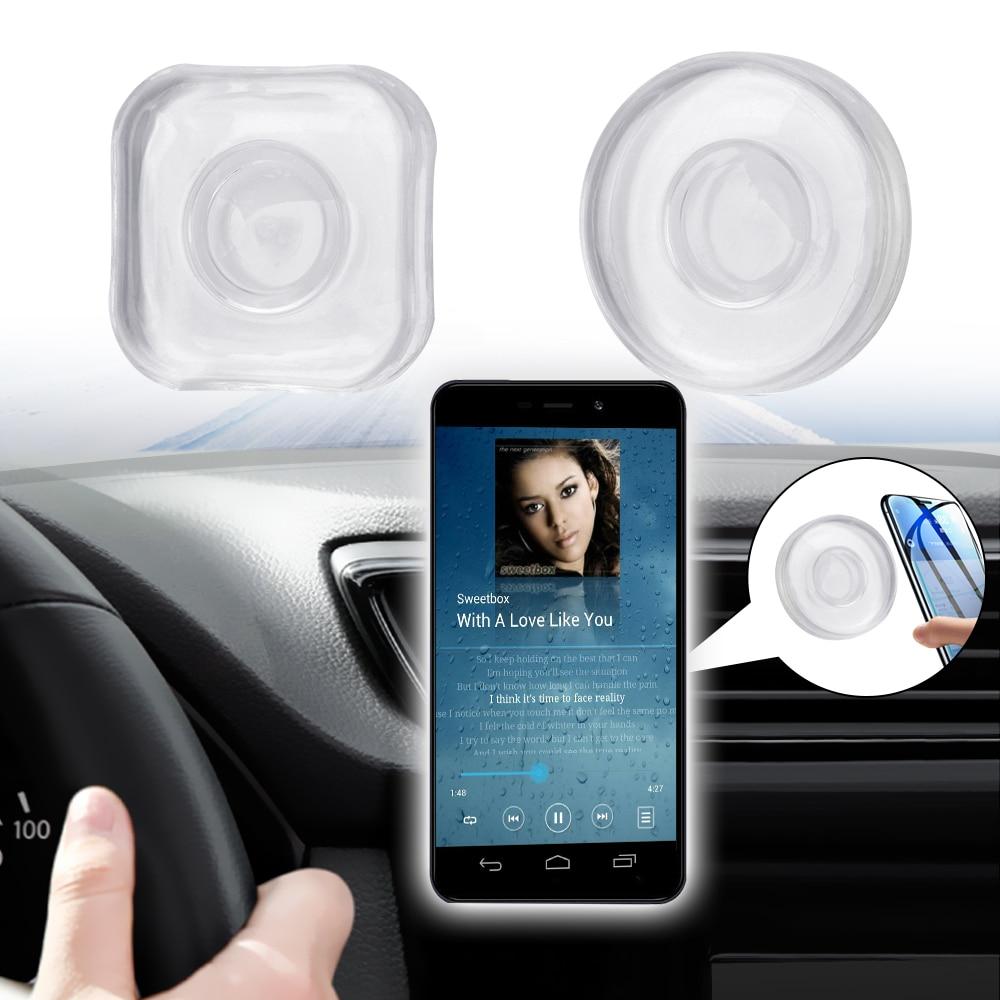 Washable Non Slip Mat Anti-Slip Mat Car Dashboard Sticky Pad Multifunction Headphone Storage  Nano Phone Holder