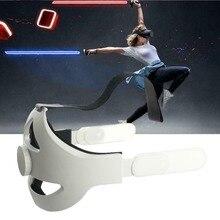 حزام رأس Oculus Quest 2 قابل للتعديل ، راحة VR ، تحسين دعم forcesupport ، زيادة الراحة الافتراضية