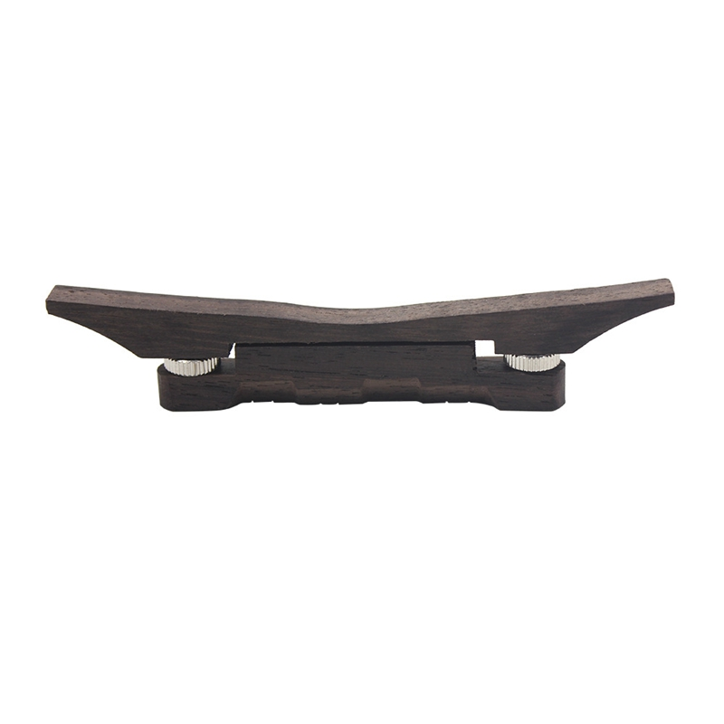 Mandolin Bridge Accessory, High Quality Adjustable Rosewood Mandolin String Height Bridge Musical Instrument Accessory