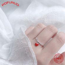 Pofunuo модные ювелирные изделия для молодых девушек кольца