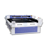 AccTek manufacture cnc plywood died board laser cutting machine with 180W laser power
