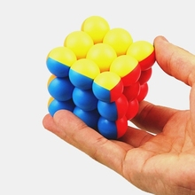 Cube 3x3x3 YJ Toys Puzzle Educational-Toys Magic-Balls Smooth for Children Boys 98