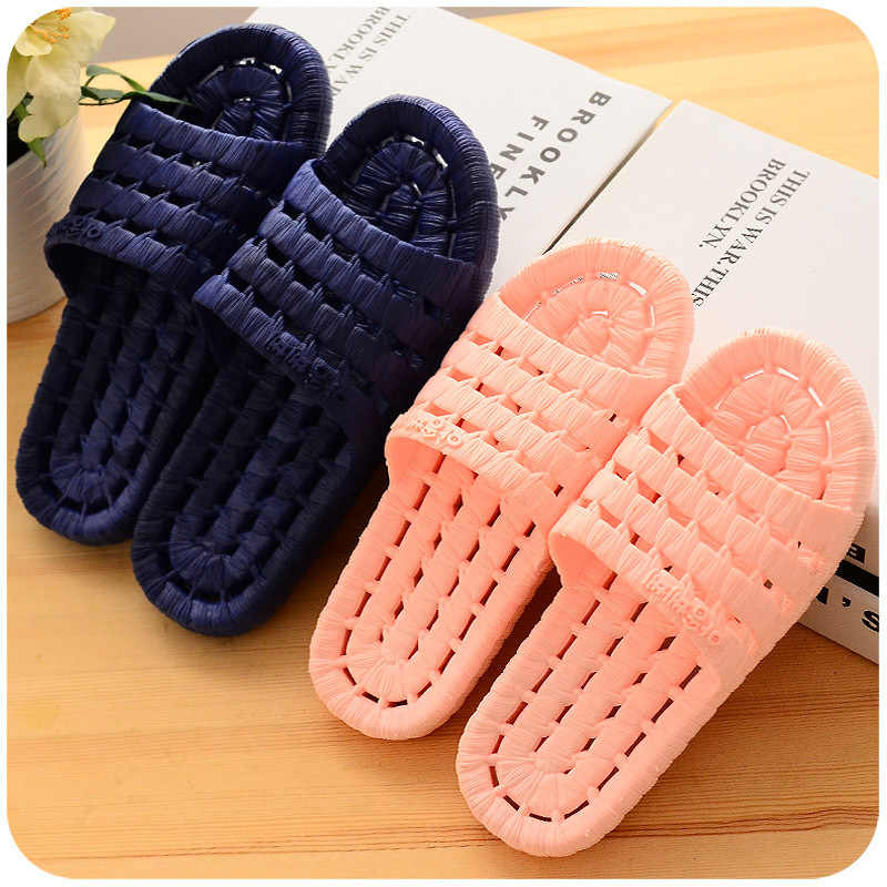 Flat Shoes Men Summer Non-slip Flip Flops Home Slippers Male Slipper Comfortable NEW Men Indoor Floor LDNX035119