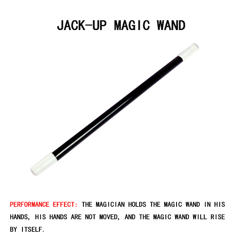 1pc Fun creative hot selling jack-up magic wand stage magic prop magic trick educational toy puzzle ADHD Anti Stress toy gift