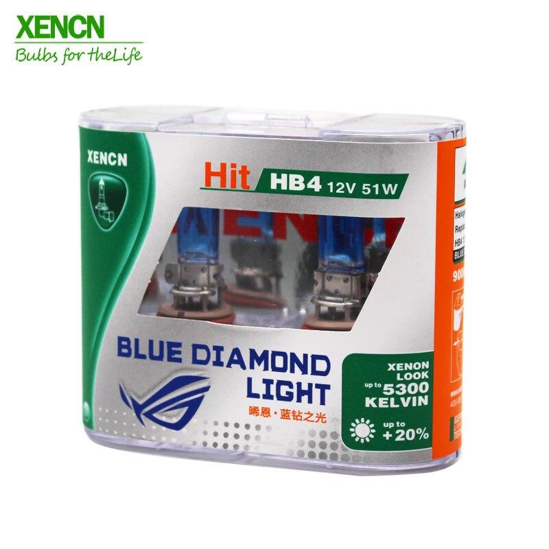 XENCN HB4 9006 12V 51W 5300K Emark Blue Diamond Light Halogen Car - Ավտոմեքենայի լույսեր - Լուսանկար 1