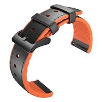 22mm Hybrid Leather Strap for TicWatch Pro/S2/E2 Smart Watch Replacement Strap TicWatch Official